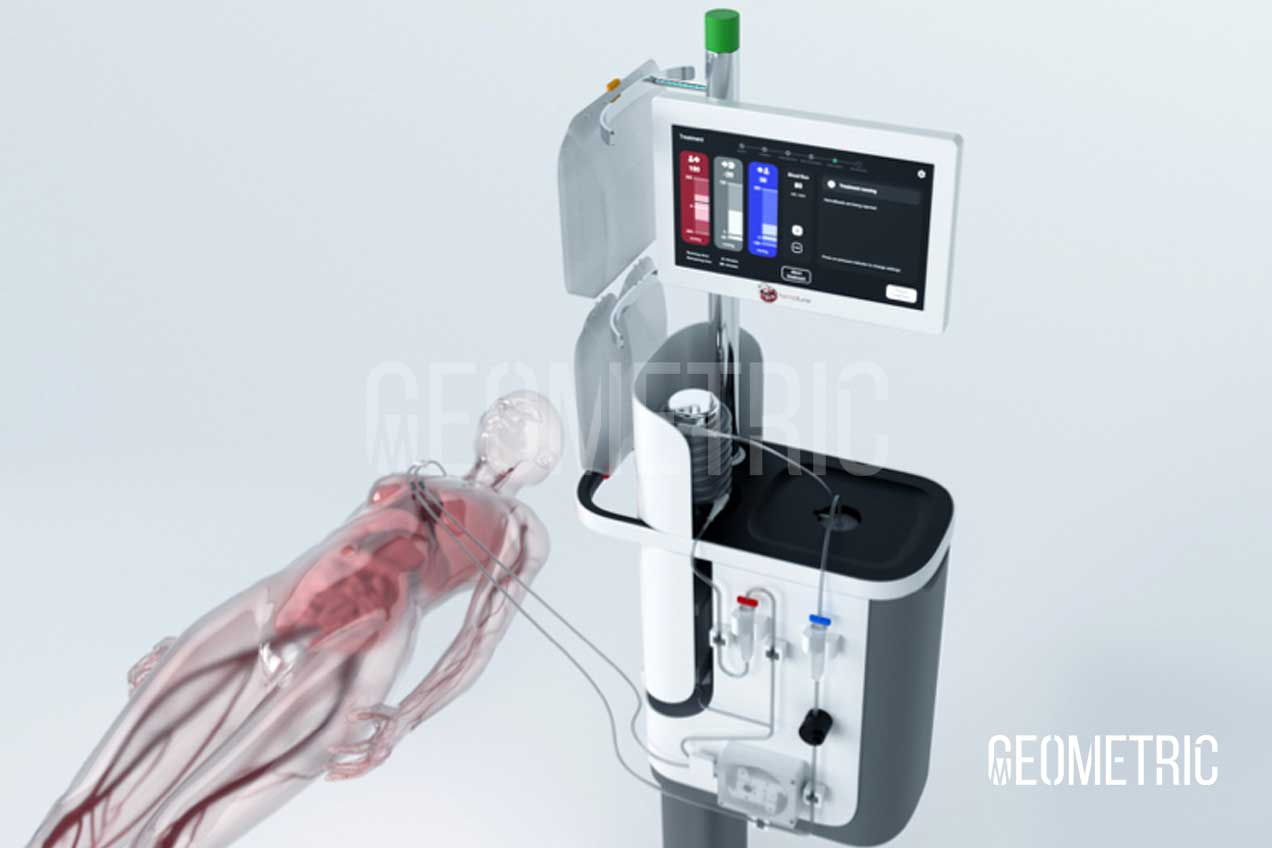 Device Blood Purification Animation