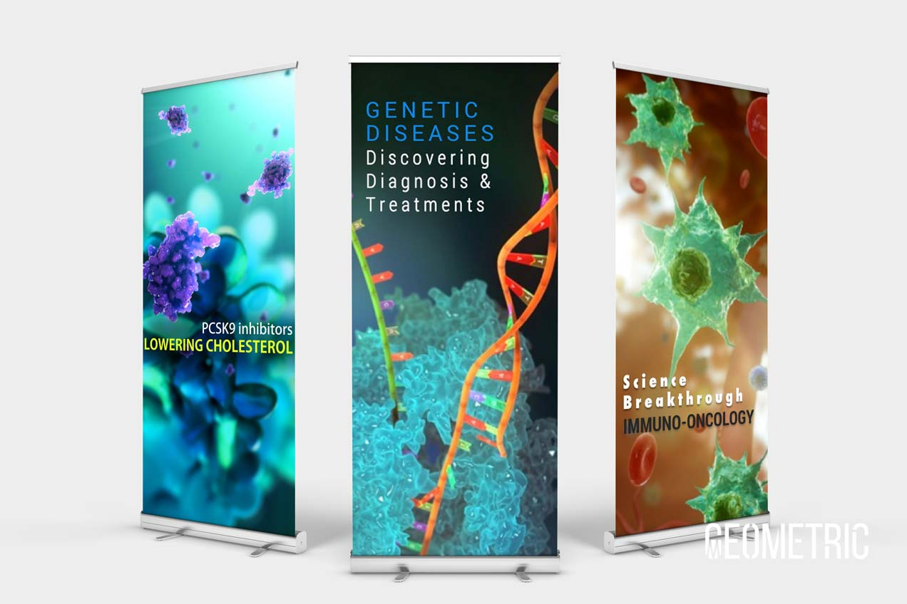 Banner Ads by Geometric Medical