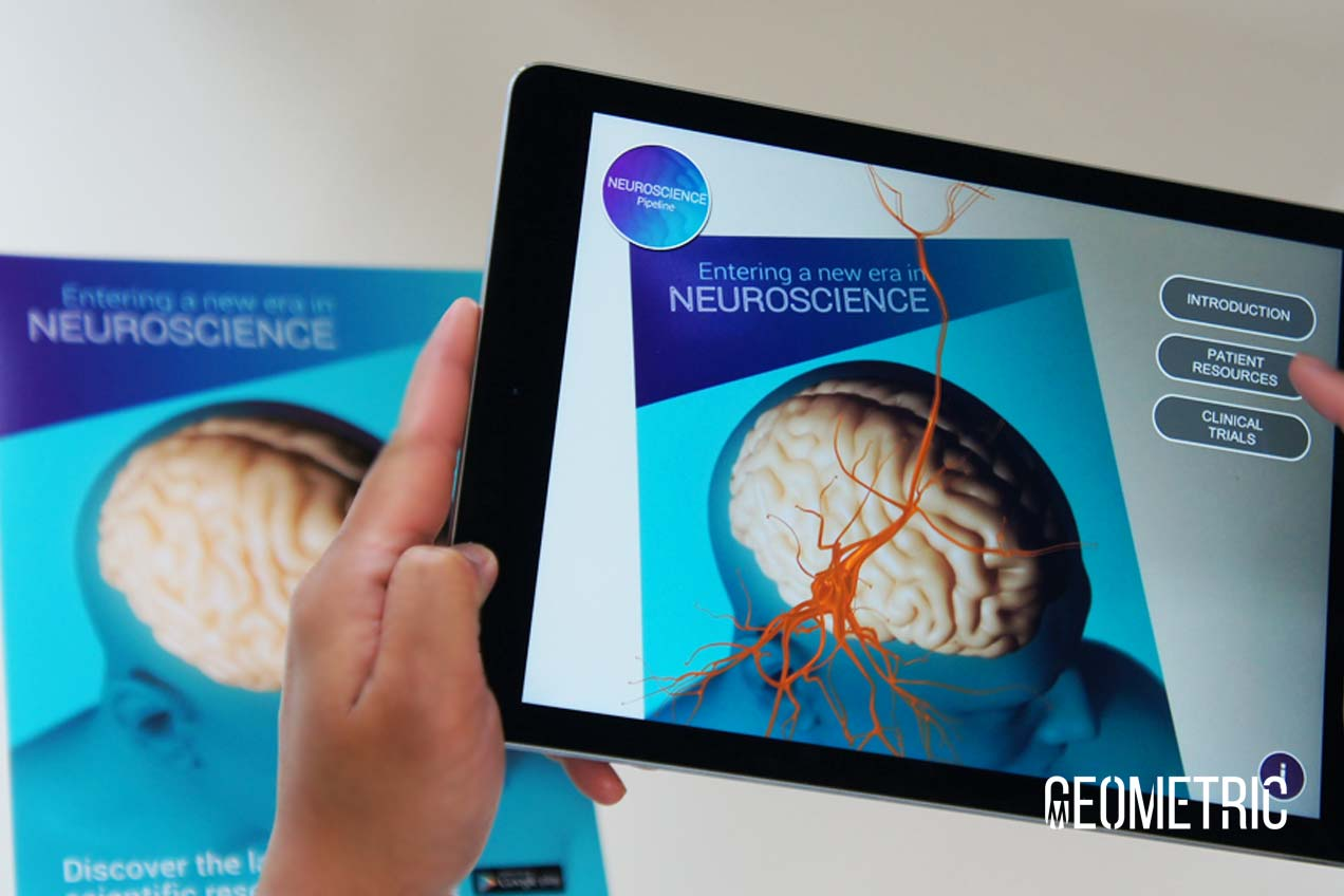Augmented Reality for pharma marketing and patient education