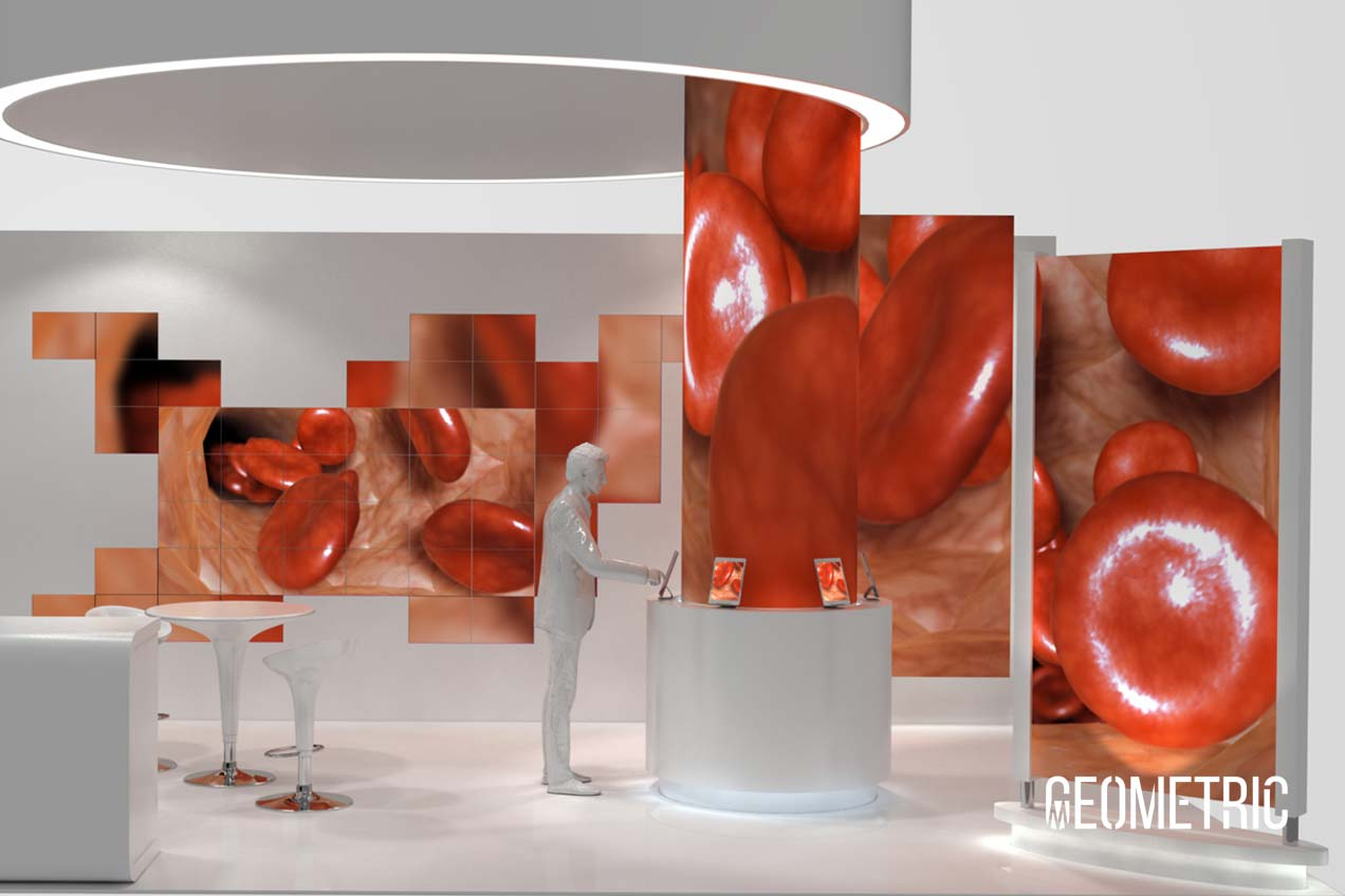 3D booth design by Geometric Medical